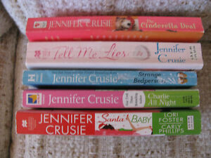 ADULT ROMANCE NOVELS BY JENNIFER CRUSIE