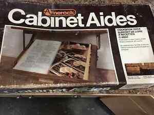 Under Cabinet Mount Cookbook Holder