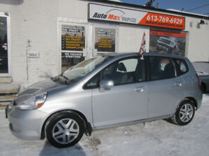 2007 Honda Fit LX Auto/Air