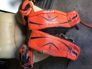 Complete set goalie gears good condition
