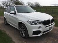 2014 BMW X5 3.0D 7 seats xDrive 30d M Sport Massive Spec 52,000 miles fsh