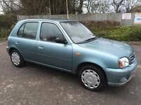Nissan Micra 1.0 16v 2001 Petrol Automatic - 2 Prevs Lady Ownr-Full Srvc Histry