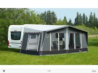 Isabella Capri Coal Awning - 1000cm - immaculate