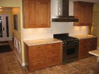 Custom Kitchen, Bath and Basement Renovations
