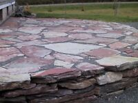 Patio stone - flagstone