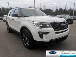 2018 Ford Explorer Sport 4WD|3.5L|Twin Panel Moonroof|2nd Row Co
