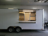 United Food Trailer 8.5 ft x 20 ft