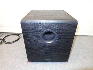 PRECISION ACOUSTICS HD52 WIRELESS SUBWOOFER - READ