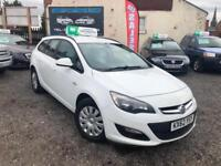 2013 62 VAUXHALL ASTRA 1.7 CDTi 16v EXCLUSIVE 5 DOOR ESTATE PART/X WARRANTY