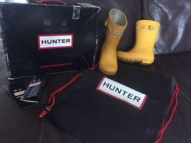 Kids Hunter Wellies Size 9
