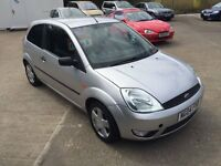 Ford Fiesta Flame 1.4, 2004, full leather, alloys etc, full m.o.t. 2004, Must see