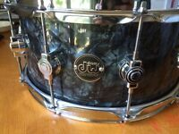 DW performance maple snare drum