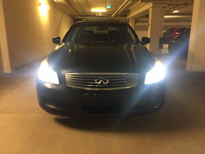 2009 Infiniti G37x - full package with navi and camera