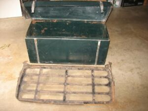 Antique Trunk & Rack