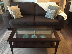 Expresso Glass Coffee Table