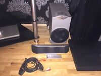 Goodmans GHC 58 Bass and Centre Speaker system-almost new