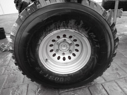 3 x  MUD TYRES 35'S COMP/TUFF TRUCK/4X4/HILUX/BUGGY/ROCK CRAWLER Bankstown Area Preview