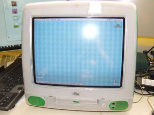 Apple iMac M4984 G3 333 MHz Computer - Green - WORKING - $250.00