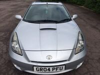 2004 Toyota Celica 1.8L VVTI Car For Sale Mot-09-2017 LONG MOT Bargain Price Only £1,049 ONO