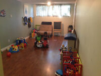Daycare / Garderie  - NDG -Available space 5 mths to 4yrs old