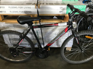 Black 18-Speed Supercycle SC1800 Mountain Bike