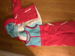 Baby girl snowsuit made by Columbia size 18months