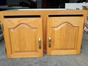 Oak Kitchen Cupboard