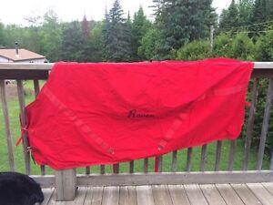 Couvertures pour cheval/Horse blankets