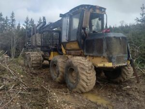 For Sale Tigercat 1014 Forwarder