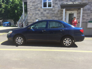 Vends voiture Toyota corolla