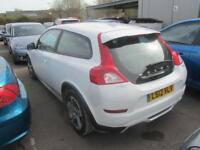 2012 Volvo C30 Sports Coupe 3Dr 1.6D DRIVe 115 DPF SS EU5 SE 6Spd Diesel white M