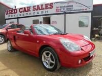 2006 06 TOYOTA MR2 1.8 ROADSTER VVT-I TF300 2D 139 BHP