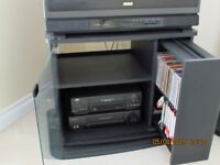 """TV Stand and RCA 27"""" TV"""