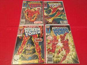 The Saga Of The Original Human Torch (1990) 1-4 complete