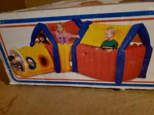 NEW!-Blow up kids playhouse