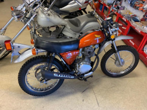 1975 HONDA XL100 BEAUTIFULLY RESTORED!