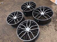 """20"""" alloy wheels Alloys Rims tyre tyres vauxhall BMW 3 4 5 series 5x120 pcd"""