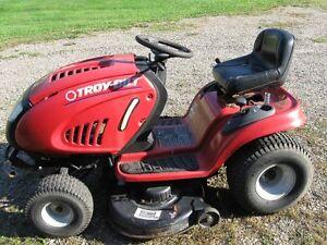 tracteur a gazon troy bilt