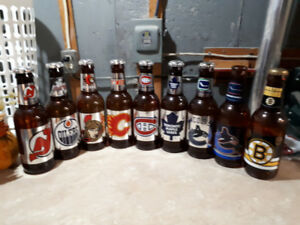 NHL Beer Bottle Banks