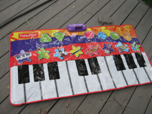 Step and play keyboard