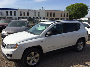 2011 JEEP COMPASS 4X4 TRAIL RATED NORTH EDITION, WARRANTY