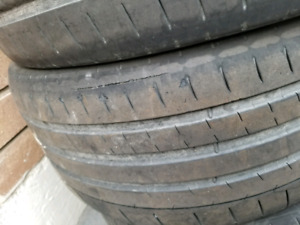Michelin PSS used 235/40/18 set