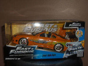 Die Cast Fast & Furious Brian's Toyota Supra Kitchener / Waterloo Kitchener Area image 1