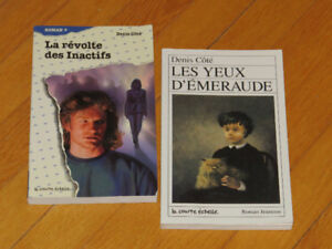 DENIS COTÉ **** duo--2 ROMANS   jeunesse auteur AVENTURE