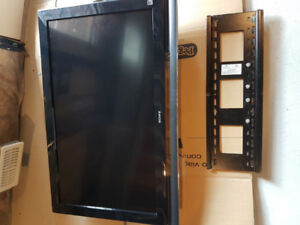 "Sony 40"" BRAVIA flat screen TV with wall mount included"