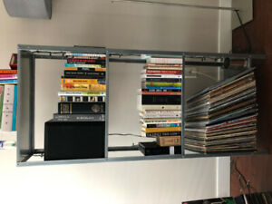 IKEA Silver Shelves