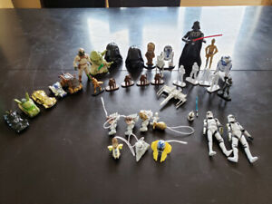 Figurines Star Wars, voitures