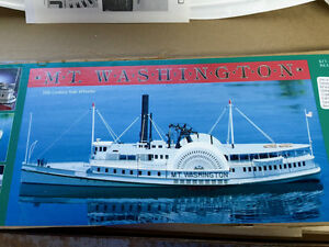 Dumas Model Ship Kit Mt. Washington