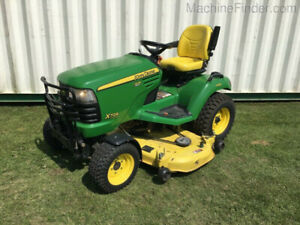2008 John Deere X729 Riding Lawnmower