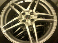 ► ► ► Honda 17in. Mag Wheels 4x100 with Tires ◄ ◄ ◄
